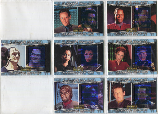 Star Trek Deep Space Nine DS9 Complete Alternate Realities Chase Card Set AR1-7   - TvMovieCards.com