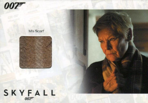 James Bond Autographs & Relics Judi Dench as M Relic Costume Card SSC36 #017/200   - TvMovieCards.com