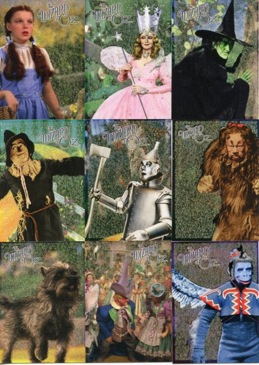 Wizard of Oz Series 2  9 Card Character Chase Card Set  Breygent 2007 CC1-CC9   - TvMovieCards.com
