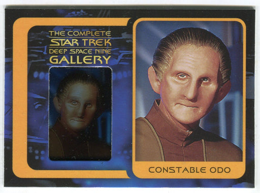 Star Trek Complete Deep Space Nine DS9 Gallery Chase Card G8 Constable Odo   - TvMovieCards.com