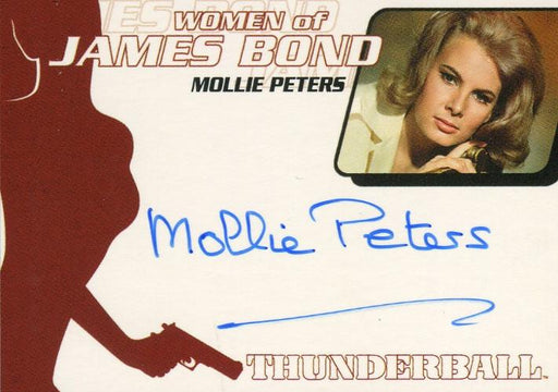 James Bond The Quotable James Bond Mollie Peters Autograph Card WA20   - TvMovieCards.com
