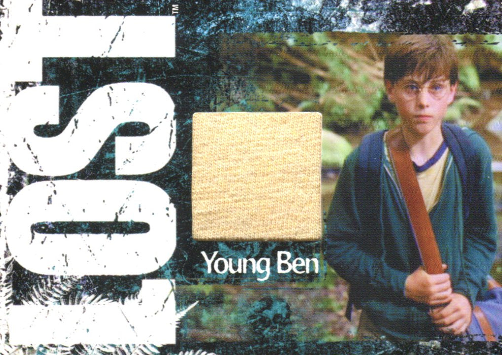 Lost Relics Sterling Beaumon as Young Ben Linus Relic Costume Card CC25 #331/350   - TvMovieCards.com