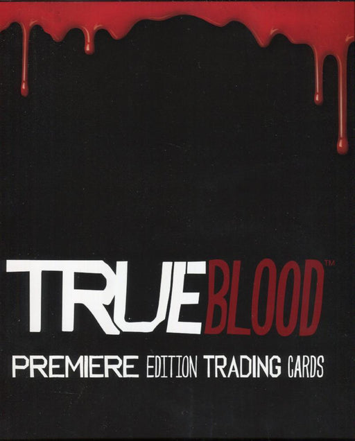 True Blood Premiere Edition Card Album with Promo Card P2   - TvMovieCards.com