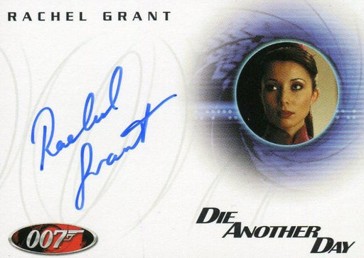 James Bond A48 The Quotable James Bond Rachel Grant Autograph Card   - TvMovieCards.com