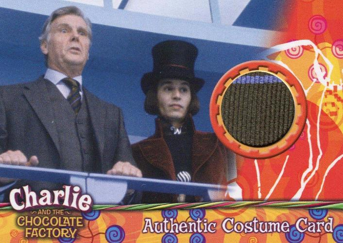 Charlie & Chocolate Factory James Fox as Mr. Salt Costume Card #025/165 Front