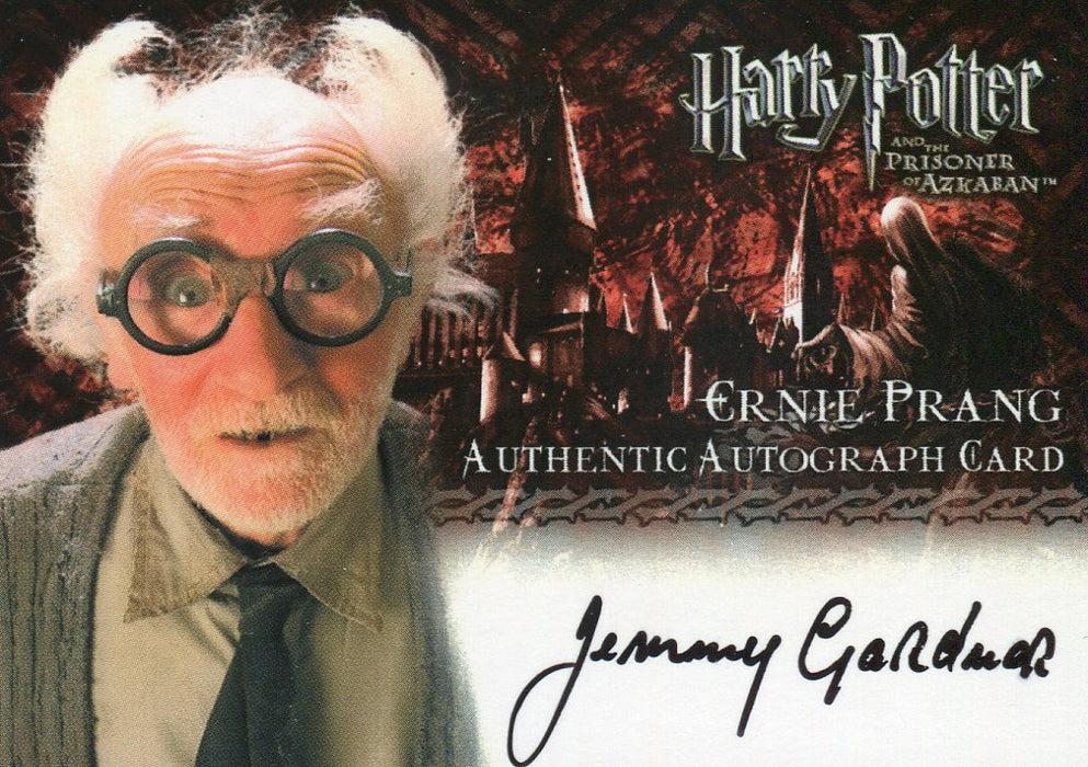 Harry Potter and the Prisoner of Azkaban Update Jimmy Gardner Autograph Card   - TvMovieCards.com
