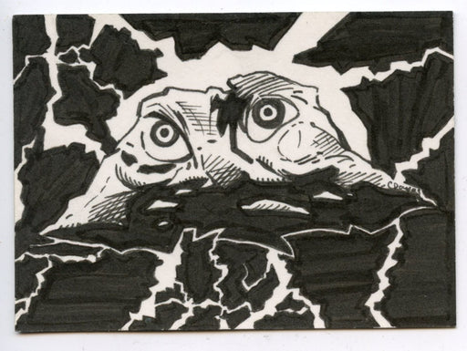 GODZILLA: KING OF THE MONSTERS Sketch Card by C. Douglas  Godzilla   - TvMovieCards.com