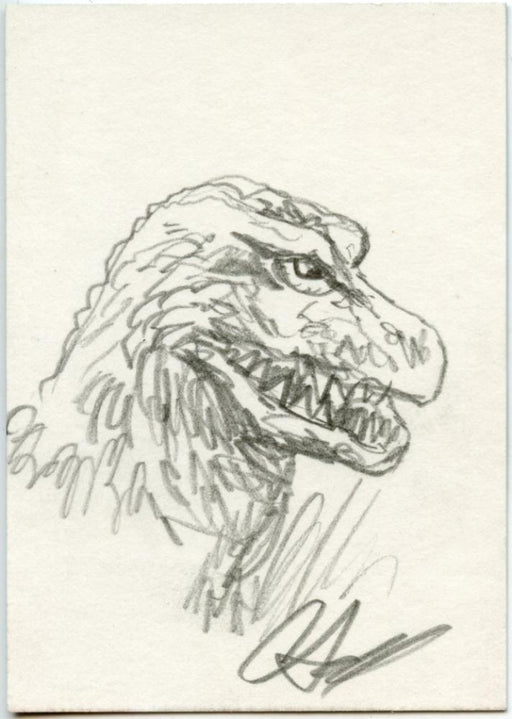 GODZILLA: KING OF THE MONSTERS Sketch Card by Christopher Scalf #3   - TvMovieCards.com