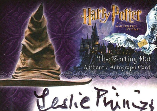 Harry Potter and the Sorcerer's Stone Leslie Phillips Autograph Card   - TvMovieCards.com