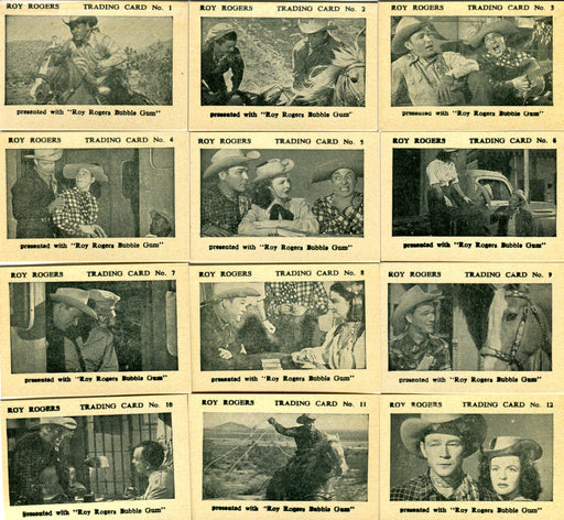 Roy Rogers South of Caliente Vintage Card Set The Times Confectionery Co. 1955   - TvMovieCards.com