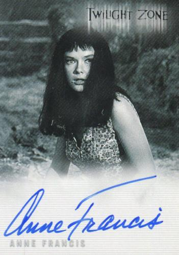 Twilight Zone 4 Science and Superstition Anne Francis Autograph Card A-96   - TvMovieCards.com