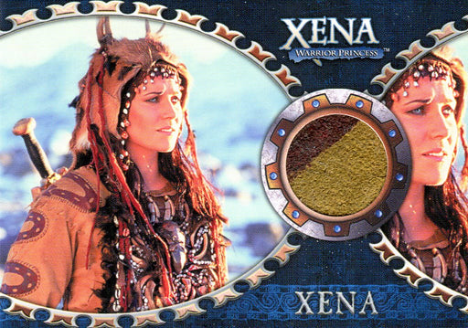 Xena Dangerous Liaisons Lucy Lawless as Xena Costume Card C2   - TvMovieCards.com