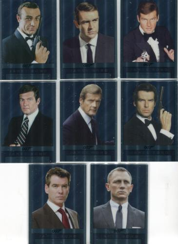 James Bond Archives Spectre Double Sided Mirror Chase Card Set 8 Cards   - TvMovieCards.com