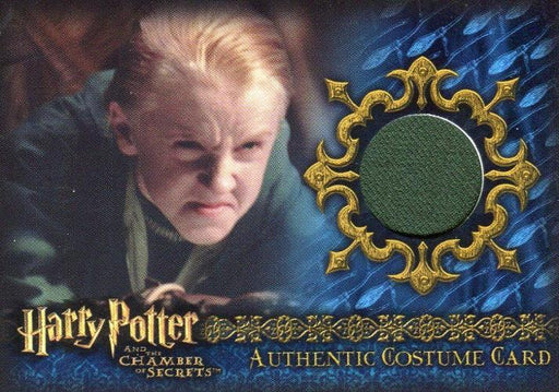 Harry Potter Chamber Secrets Draco Malfoy's Robe Costume Card HP C13 #027/165   - TvMovieCards.com