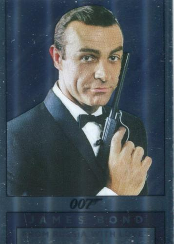 James Bond Archives Spectre Double Sided Mirror Chase Card M2   - TvMovieCards.com