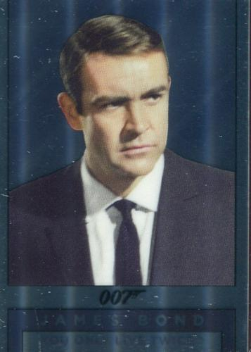 James Bond Archives Spectre Double Sided Mirror Chase Card M5   - TvMovieCards.com