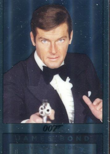 James Bond Archives Spectre Double Sided Mirror Chase Card M8   - TvMovieCards.com