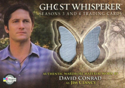 Ghost Whisperer Seasons 3 & 4 David Conrad as Jim Clancy Costume Card C18   - TvMovieCards.com