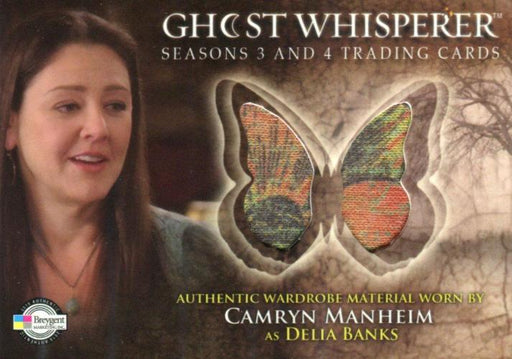 Ghost Whisperer Seasons 3 & 4 Camryn Manheim as Delia Banks Costume Card C13   - TvMovieCards.com