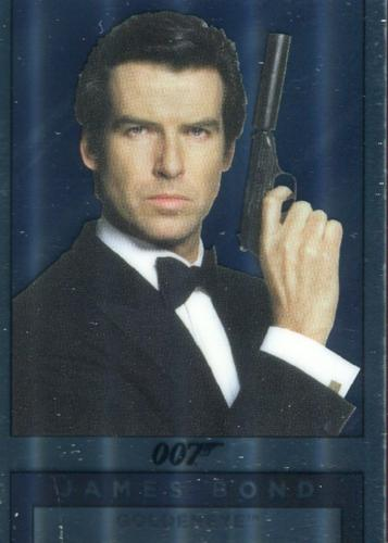 James Bond Archives Spectre Double Sided Mirror Chase Card M17   - TvMovieCards.com