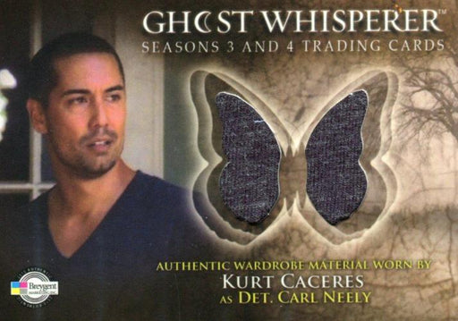Ghost Whisperer Seasons 3 & 4 Kurt Caceres as Det. Carl Neely Costume Card C27   - TvMovieCards.com