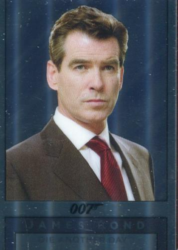 James Bond Archives Spectre Double Sided Mirror Chase Card M20   - TvMovieCards.com