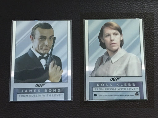 James Bond Archives Spectre Double Sided Mirror Chase Card Singles M2 - M23 M2  - TvMovieCards.com