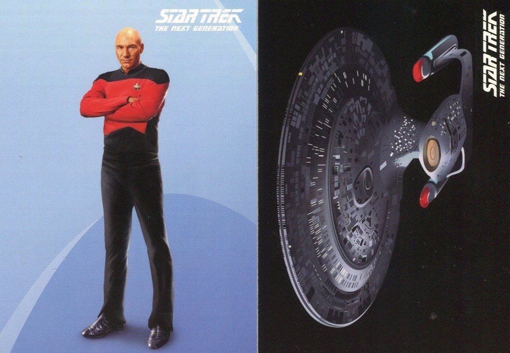 Star Trek TNG The Next Generation Portfolio Prints Promo Card SET P1 P2   - TvMovieCards.com