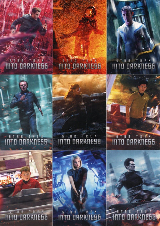 Star Trek Movie Into Darkness Preview Card Set 9 Cards STID1 thru STID9   - TvMovieCards.com