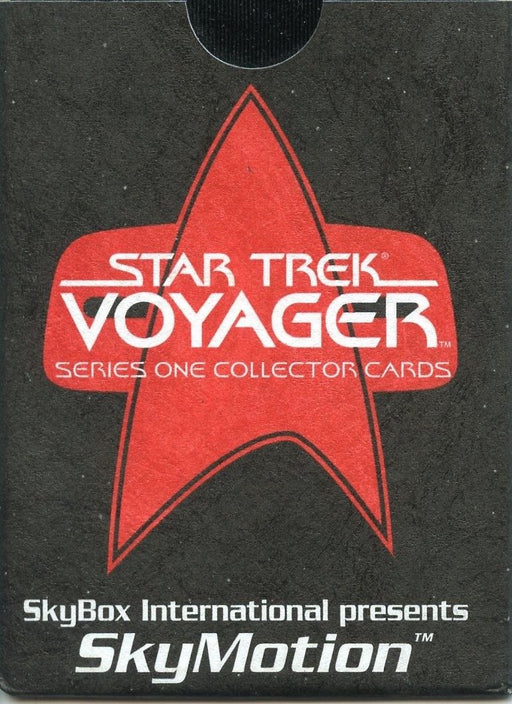 Star Trek Voyager Season One Series One SkyMotion Chase Card SkyBox   - TvMovieCards.com