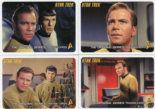 Star Trek Original 40th Anniversary Series 1 4 CARD PROMO SET P1 P2 P3 UK   - TvMovieCards.com