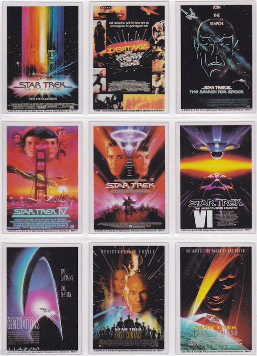 Star Trek Quotable Movies 2010 Movie Poster Cel Chase Card Set MP1 - MP10   - TvMovieCards.com