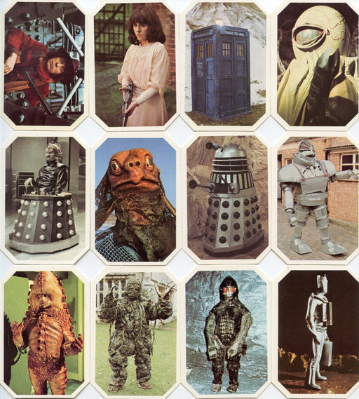 1976 Dr. Who UK Card Set 12 Cards Cadbury Ty Phoo Ty-Phoo   - TvMovieCards.com