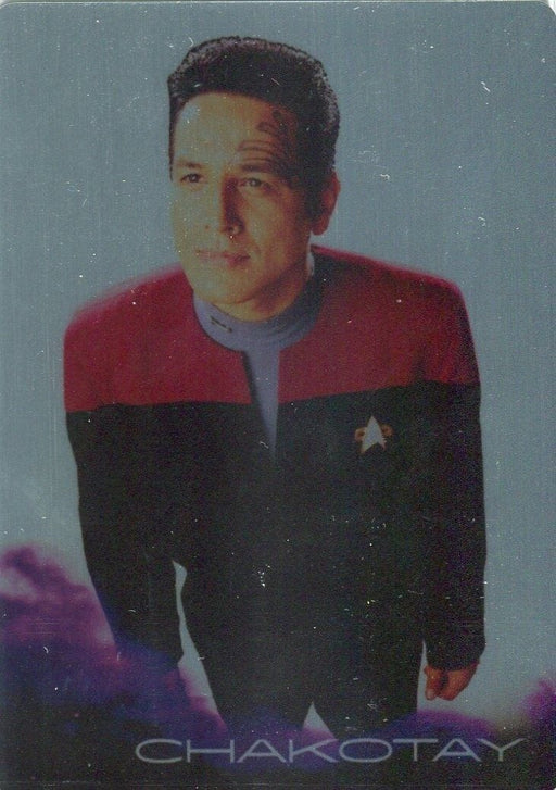 Star Trek Voyager Heroes Villains Black Gold Gallery Parallel Chase Card BG2   - TvMovieCards.com