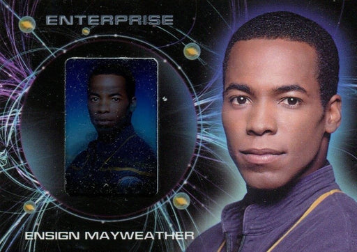 Star Trek Enterprise Season 2 Two Gallery Chase Card G5 Mayweather   - TvMovieCards.com