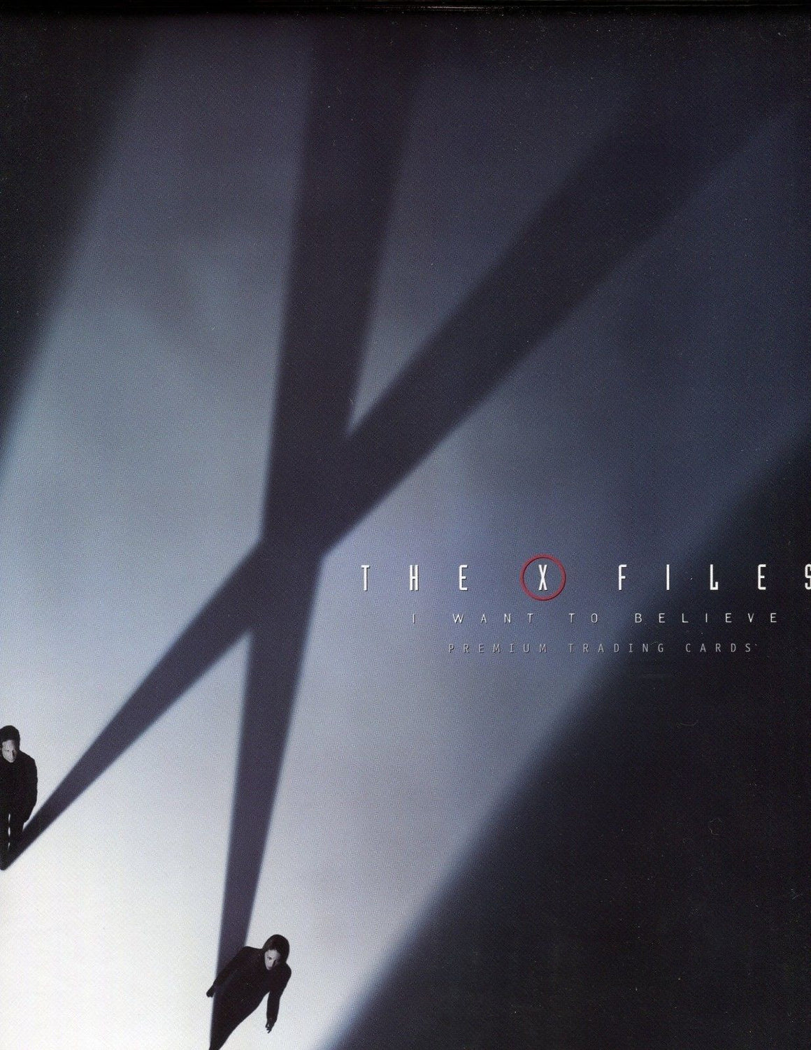 X-Files I Want to Believe Movie Card Album