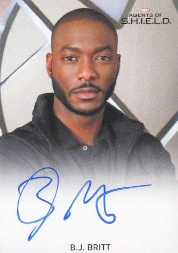 Agents of S.H.I.E.L.D. Season 2 B.J. Britt Autograph Card   - TvMovieCards.com