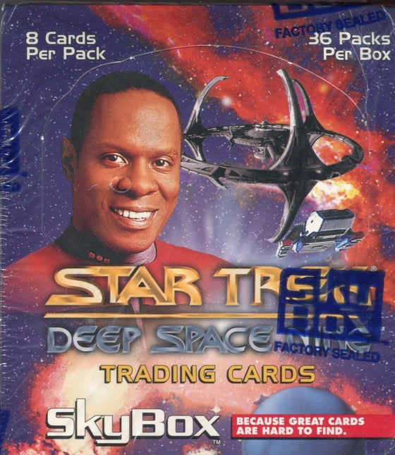 Star Trek Deep Space Nine DS9 Card Box