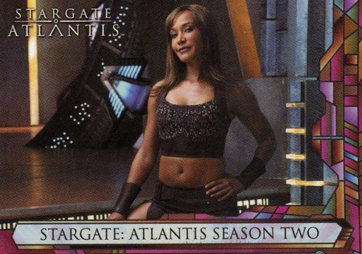 Stargate Atlantis Season Two Promo Card CP1   - TvMovieCards.com