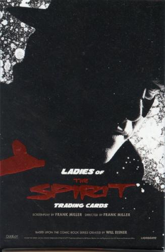 Spirit Ladies of The Spirit San Diego Comic Con Promo Card Pack   - TvMovieCards.com
