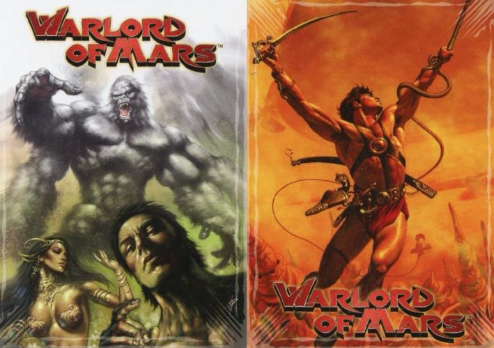 Warlord of Mars Promo Card Lot 2 Cards   - TvMovieCards.com