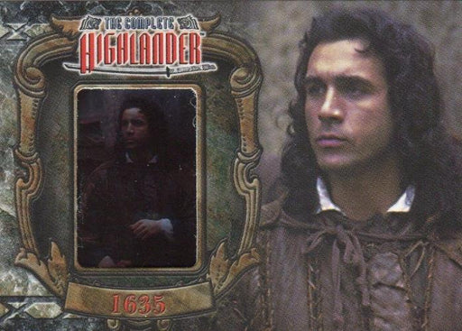 Highlander Complete The Wanderer Duncan MacLeod W2 Chase Card   - TvMovieCards.com