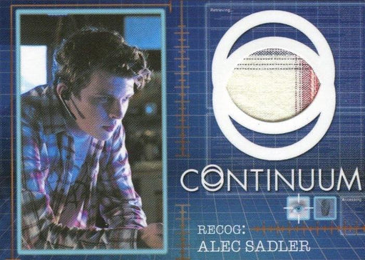 Continuum Seasons 1 & 2 Alec Sadler Costume Card CC7 #016/125   - TvMovieCards.com