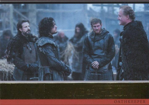 Game of Thrones Season 4 Gold Foil Parallel Base Chase Card #11 112/150   - TvMovieCards.com