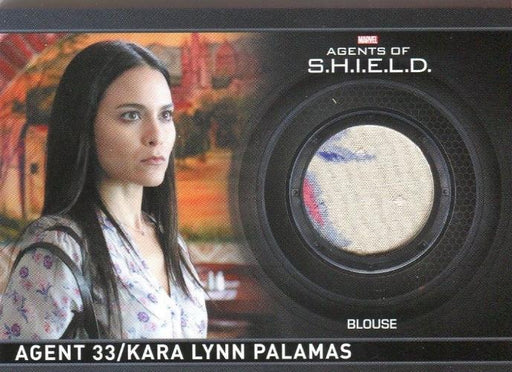 Agents of S.H.I.E.L.D. Season 2 Kara Lynn Palamas Costume Card CC13   - TvMovieCards.com