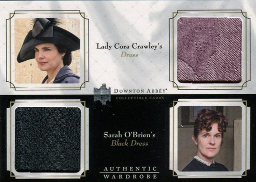 Downton Abbey Seasons 1 & 2 Double Wardrobe Costume Card DW05   - TvMovieCards.com