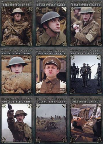 Downton Abbey Seasons 1 & 2 At War Chase Card Set 9 Cards   - TvMovieCards.com