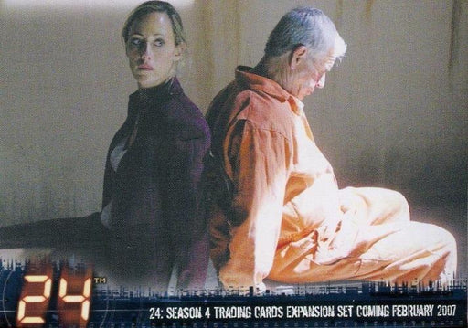 24 Twenty Four Season 4 Expansion Promo Card P2   - TvMovieCards.com