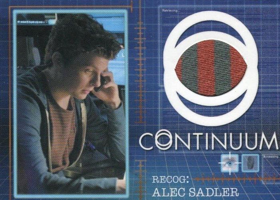 Continuum Seasons 1 & 2 Alec Sadler Costume Card CC12 #086/125 Front