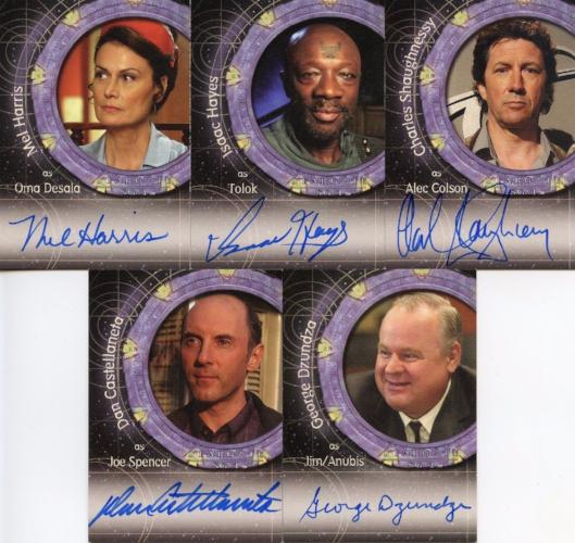 Stargate SG-1 Season Eight Master Card Set   - TvMovieCards.com
